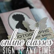 online scrapbooking classes