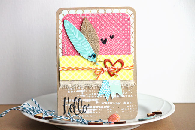 handmade card by angie gutshall @ shimelle.com