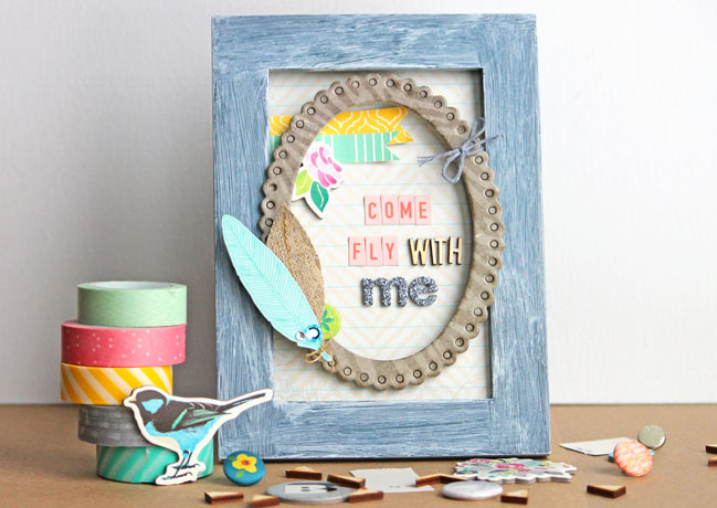 decorated frame by angie gutshall @ shimelle.com