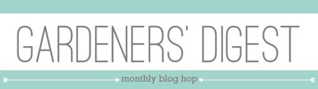 gardeners' digest scrapbooking blog hop