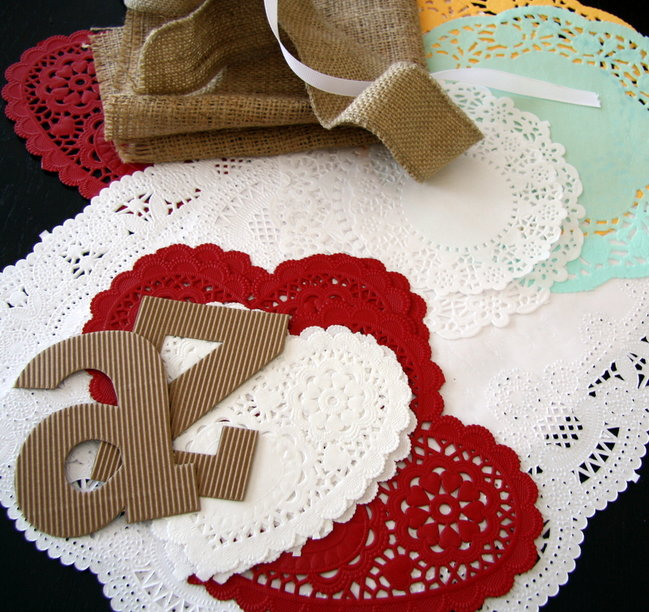 Paper Five Imaginative Ways To Scrapbook With Paper Doilies By