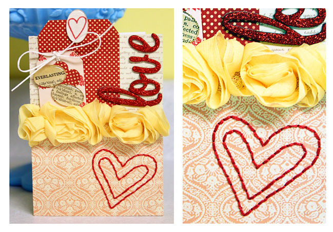 scrapbooking tutorial by Mandy Koeppen @ shimelle.com