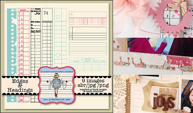 scrapbooking tutorial by Betsy Sammarco @ shimelle.com