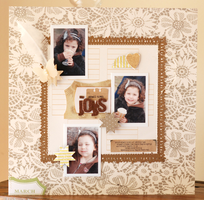 scrapbook page by Betsy Sammarco @ shimelle.com