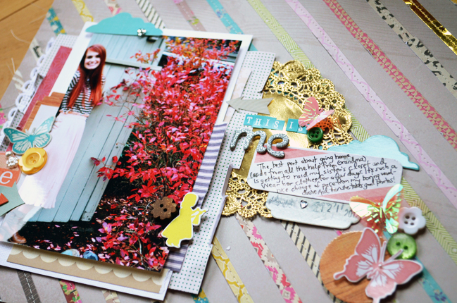 Paper Sketch To Scrapbook Page Simple Designs For Patterned
