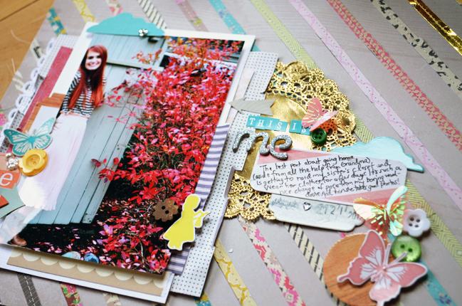 scrapbook page by Paige Evans @ shimelle.com