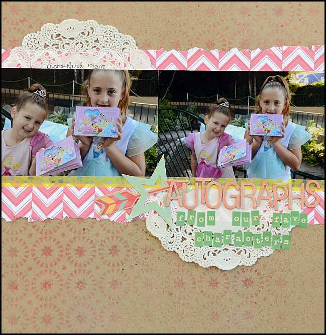 scrapbooking tutorial by May Flaum @ shimelle.com
