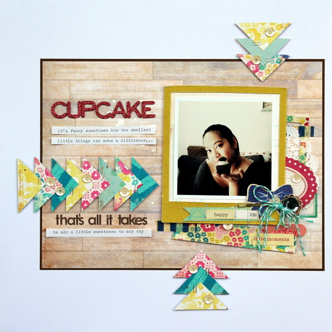 scrapbook page by Piradee Talvanna @ shimelle.com