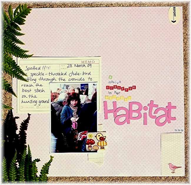 scrapbook page