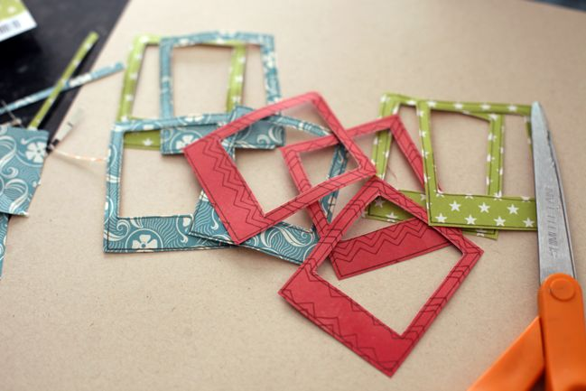 weekly challenge: Cut your scrapbook embellishments by hand