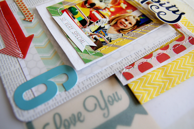 scrapbook tutorial by Mandy Koeppen @ shimelle.com