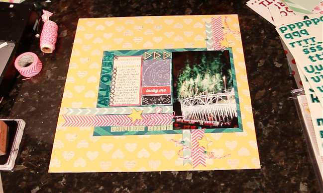 scrapbooking using photos