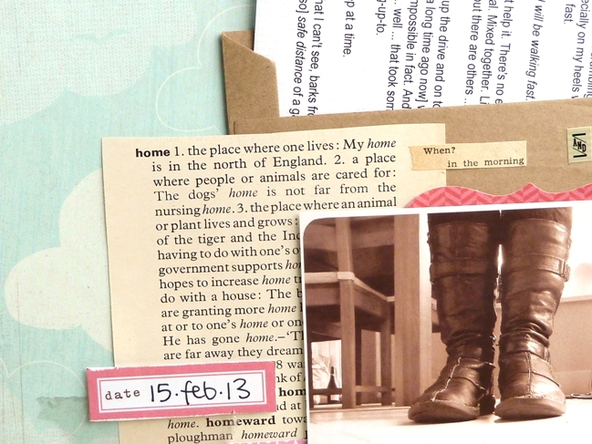 scrapbooking ideas by Julie Kirk @ shimelle.com