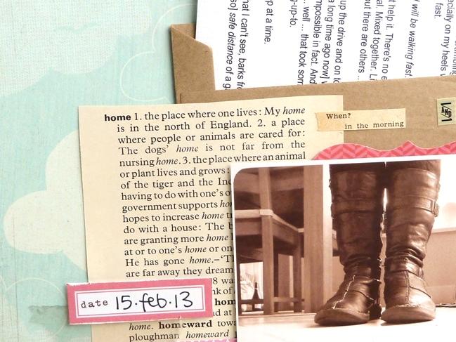 scrapbooking ideas by Julie Kirk @ shimelle.com