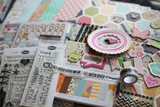 Best of Both Worlds Scrapbooking Kit @ shimelle.com