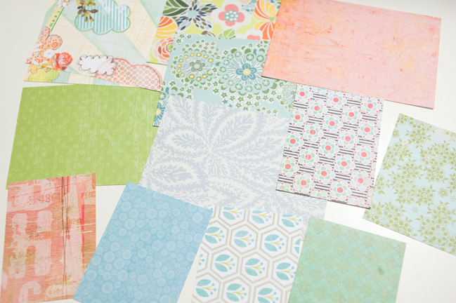 Five Ideas for Using your Scrap Papers by Melissa Stinson @ shimelle.com