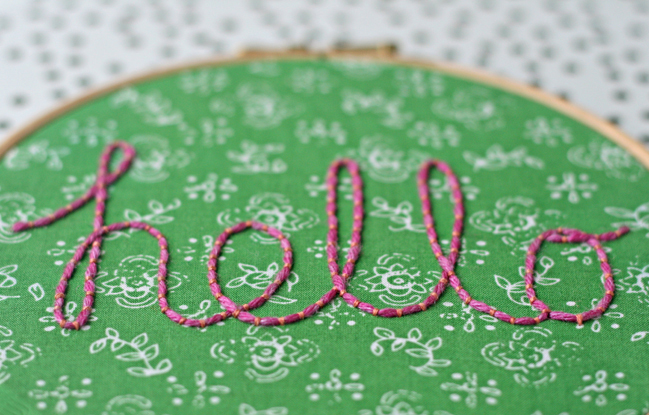 Five Ways to Make Your Own Lettering y Kirsty Neale @ shimelle.com