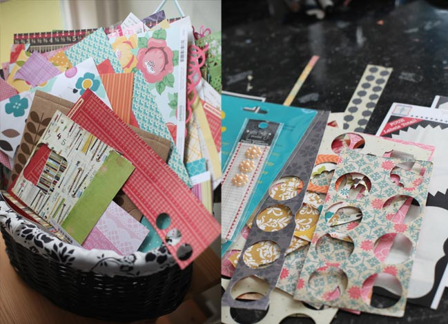 scrapbooking papers @ shimelle.com
