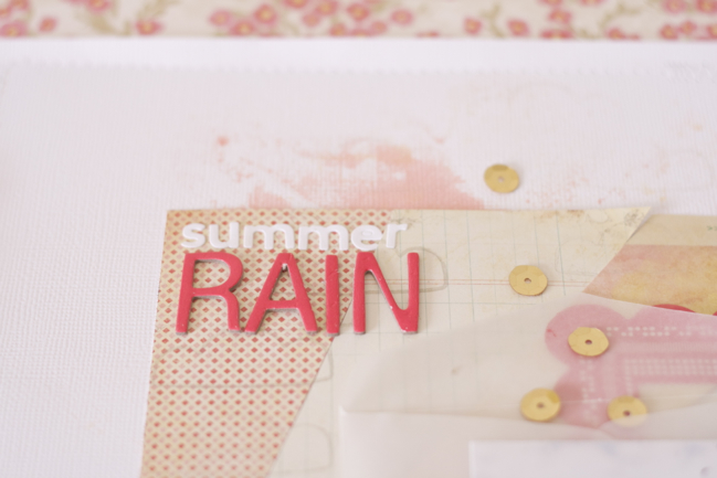 Simple Sunburst: A scrapbook tutorial by Michelle Deleon @ shimelle.com