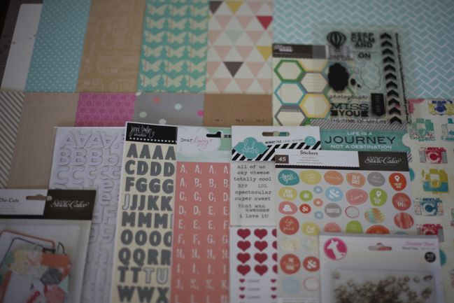 Best of Both Worlds Scrapbooking Kit - May 2013