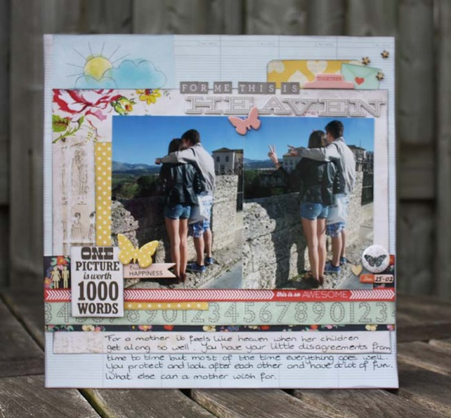 Scrapbooking with 4x6 Photos by Diana Besemer @ shimelle.com