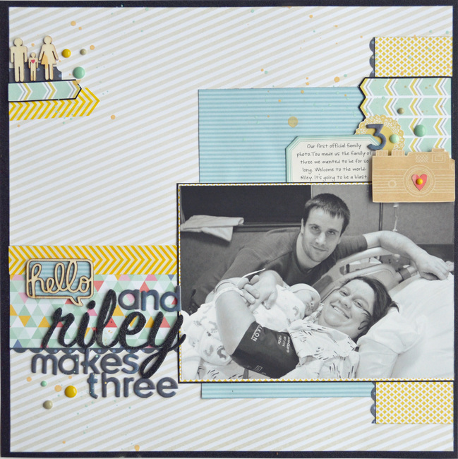 Scrapbooking the milestones of life by Natasha Key @ shimelle.com