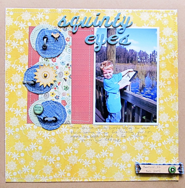 The power of three in scrapbooking design by Christy Strickler @ shimelle.com