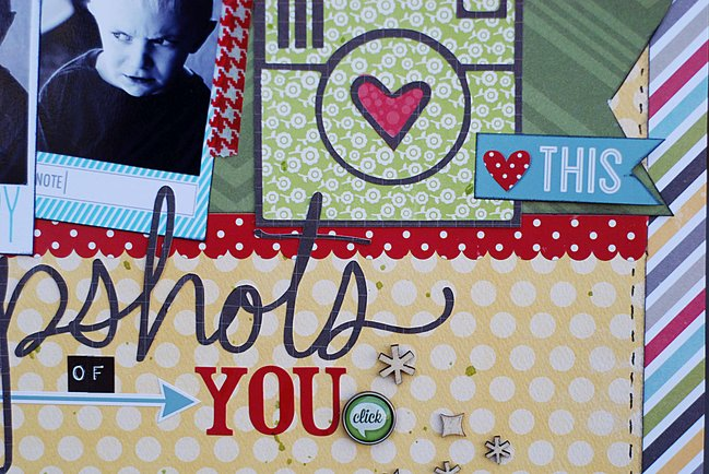 scrapbook page by Becki Adams @ shimelle.com