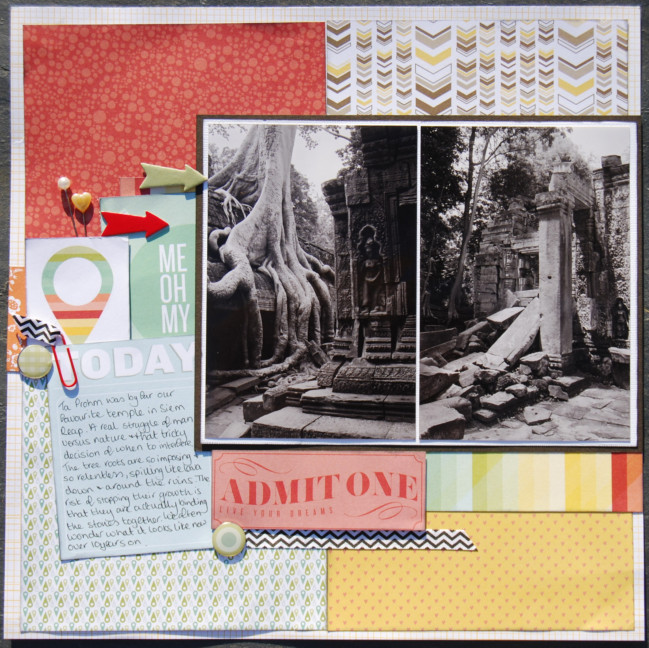 Scrapbooking double page layouts by Lisa Jane Johnson @ shimelle.com