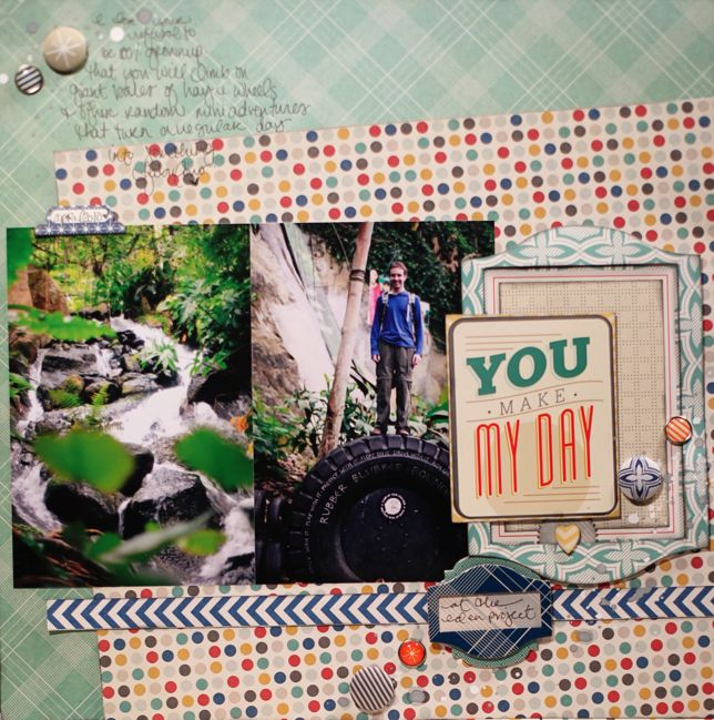 Paper Scrapbooking With 4x6 Photos Pretty Paper True Stories