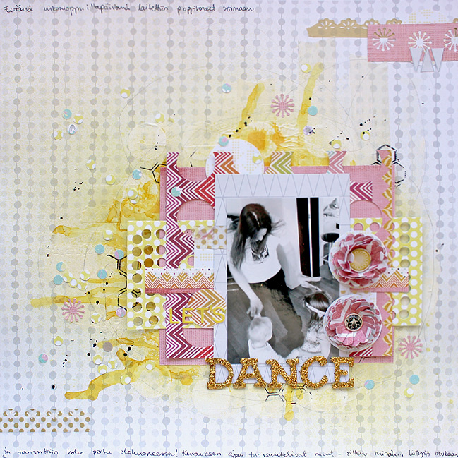 scrapbook page by Riikka Kovasin @ shimelle.com