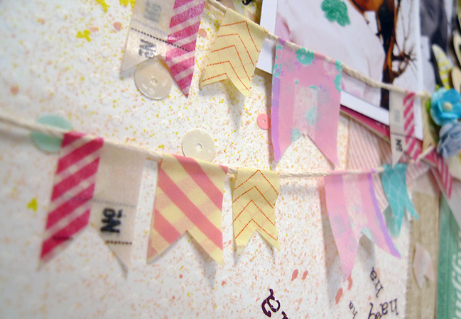 Five pretty ways to use Washi Tapes by Azumi Izuno @ shimelle.com