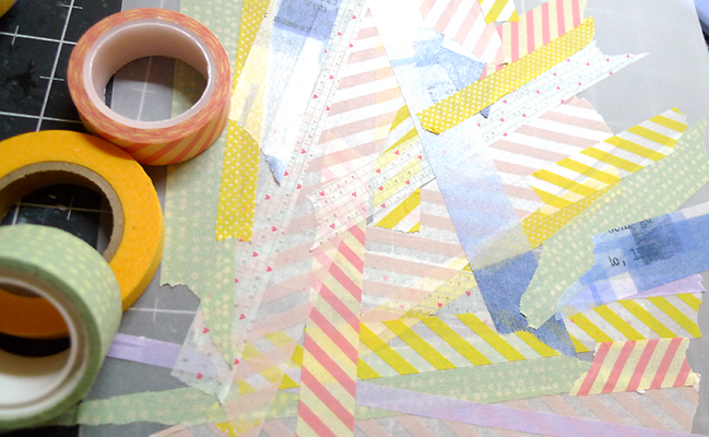 Five pretty wats to use Washi Tapes by Azumi Izuno @ shimelle.com