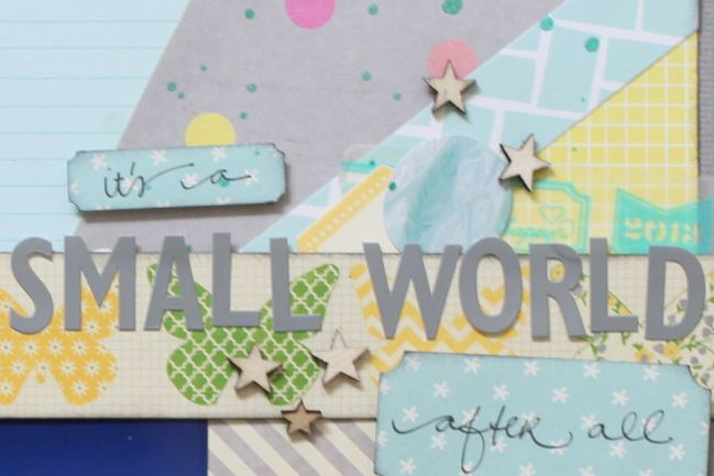 Sketch to Scrapbook Page :: Adding a Sunburst to your page  @ shimelle.com