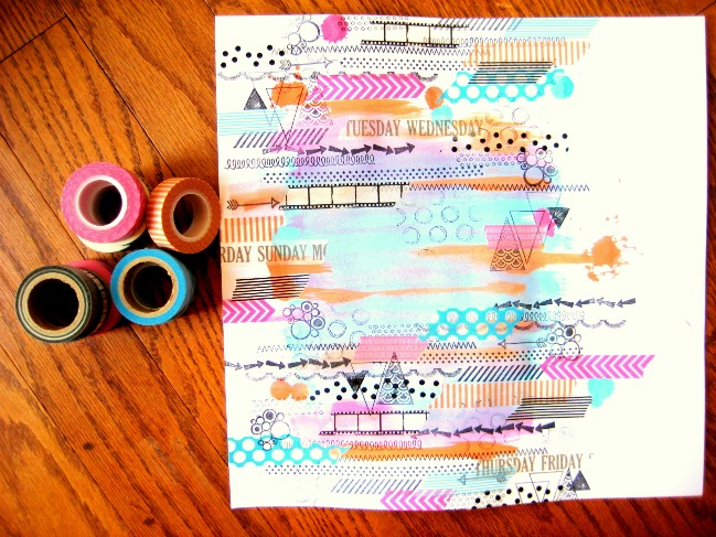 Messy Mood:: A Scrapbook Tutorial by Missy Whidden @ shimelle.com