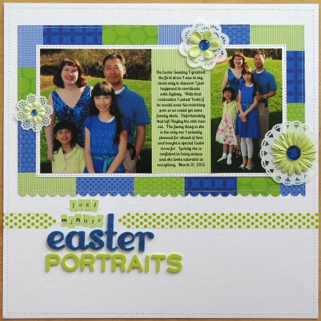 scrapbook page by Mendi Yoshikawa @ shimelle.com