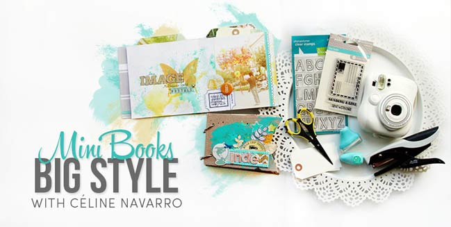 scrapbooking workshop by celine navarro