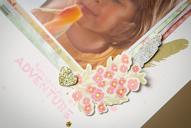 Embrace the White Space:: A Scrapbooking Tutorial by Els Bestamped @ shimelle.com
