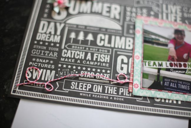 scrapbook page tutorial by shimelle laine @ shimelle.com