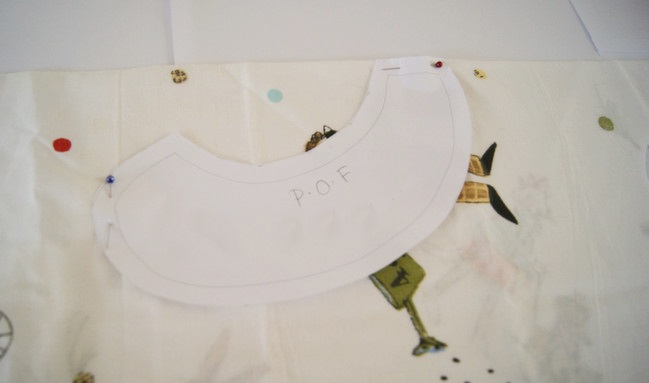 The no-sew collar by Alice Partridge @ shimelle.com
