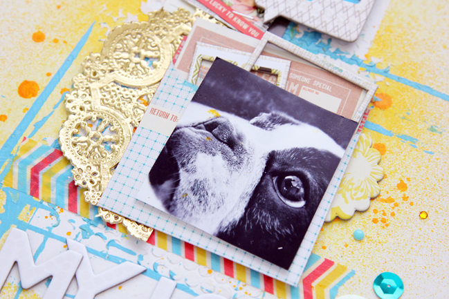 Five Ways to Use Cards in your Scrapbooking by Tina Walker @ shimelle.com