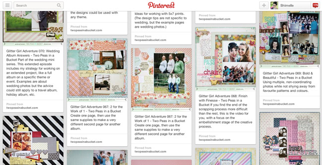 a quick reference guide to glitter girls scrapbooking adventures