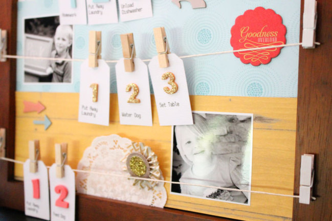Five Clever Ways to use Clothespins by Angie Gutshall @ shimelle.com