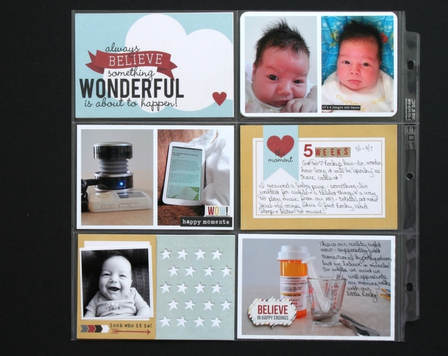 Five ideas how to use project life cards by Wendy Antenucci @ shimelle.com