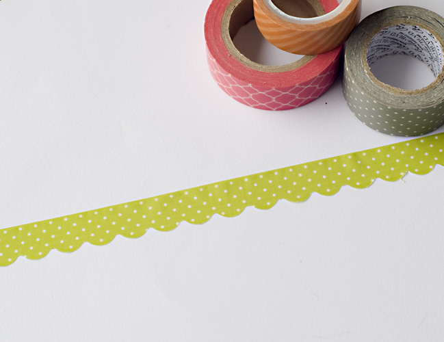 Border Punches with Decorative Tapes:: A Scrapbook Tutorial by Tegan Skwiat @ shimelle.com