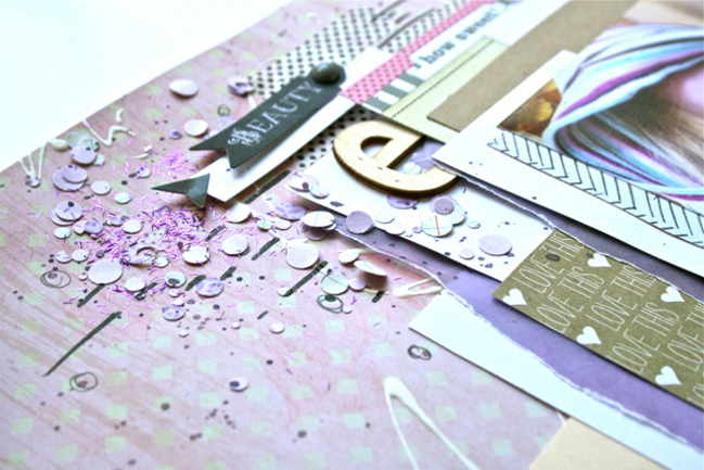 five ways to scrap with the color purple by ashli oliver @ shimelle.com