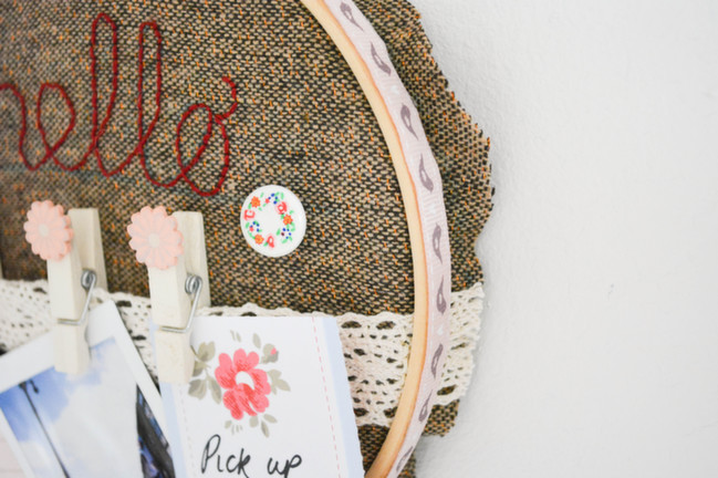 embroidery hoop by Alice Partridge @ shimelle.com