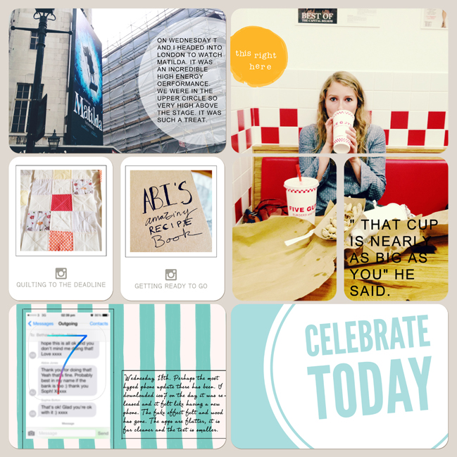 paper: Five Different Ways to Use your Photos in Project Life by Abigail Beach | pretty paper. true stories. {and scrapbooking classes with cupcakes.}