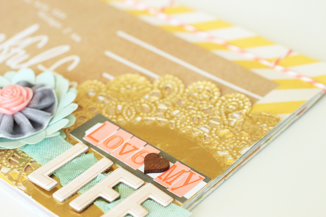 Using Japanese Bookbinding to Create a mini album:: a scrapbook tutorial by meghann andrew @ shimelle.com