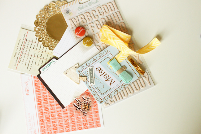 using japanese bookbinding to create a mini album:: a scrapbooking tutorial by meghann andrew @ shimelle.com